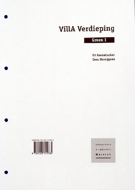 Villa Verdieping Groen 1