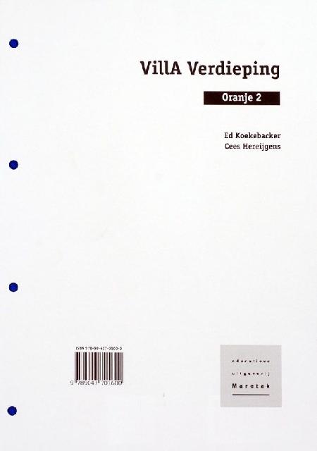Villa Verdieping Oranje 2