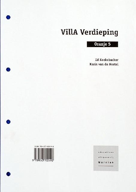 Villa Verdieping Oranje 5