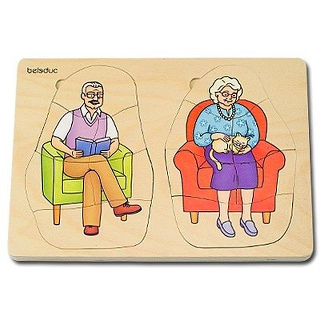 Lagenpuzzel opa en oma