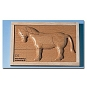 Reliëf puzzel paard