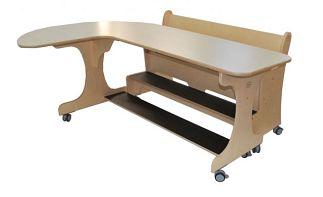 Set van 2 J-vormige tafels