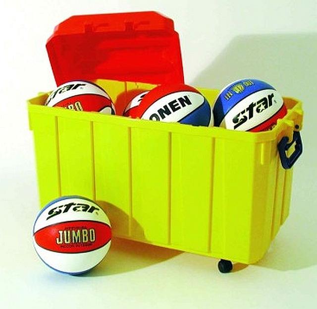 Basketballenbox Jumbo Star Color