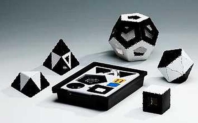 Clixi-Box nr. 1 zwart wit