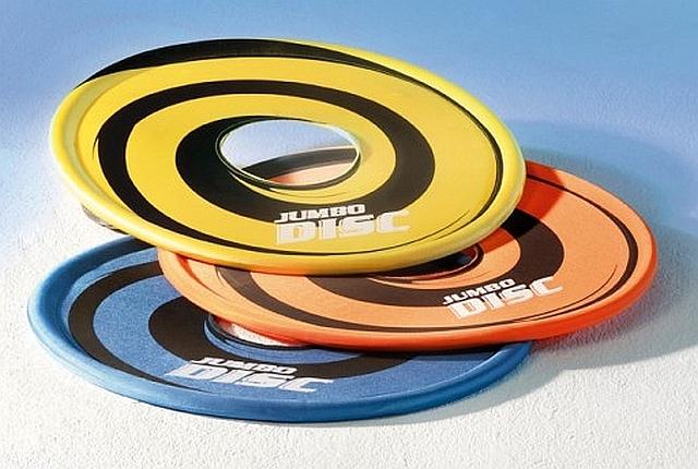 Reuzenfrisbee XXL Gigantische frisbee voor buiten of grote ruimtes. Diameter 60 cm