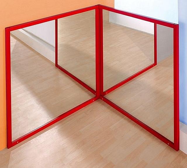 Spiegelhoek met 2 spiegels Zonder mat