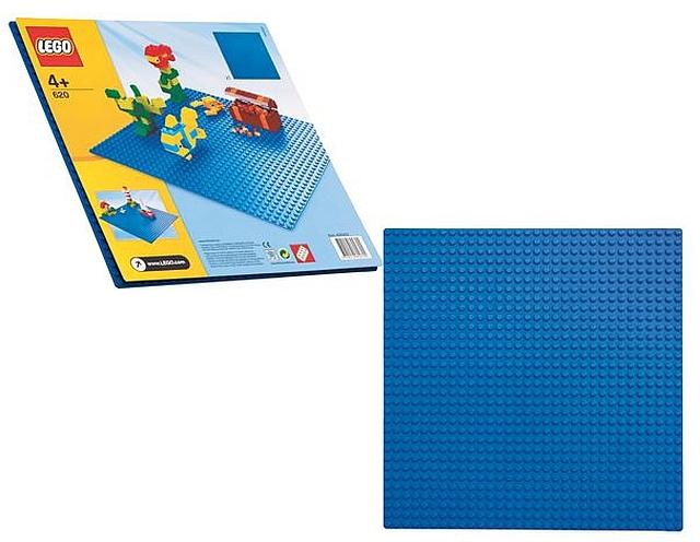 Lego bouwplaat blauw