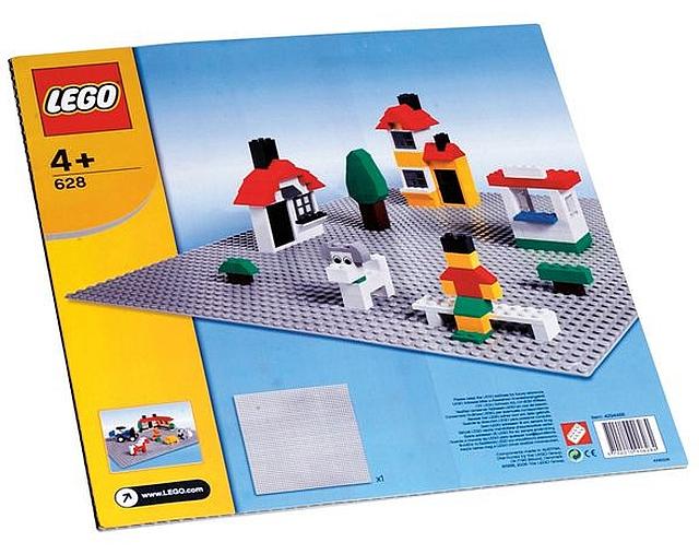 Lego bouwplaat grijs