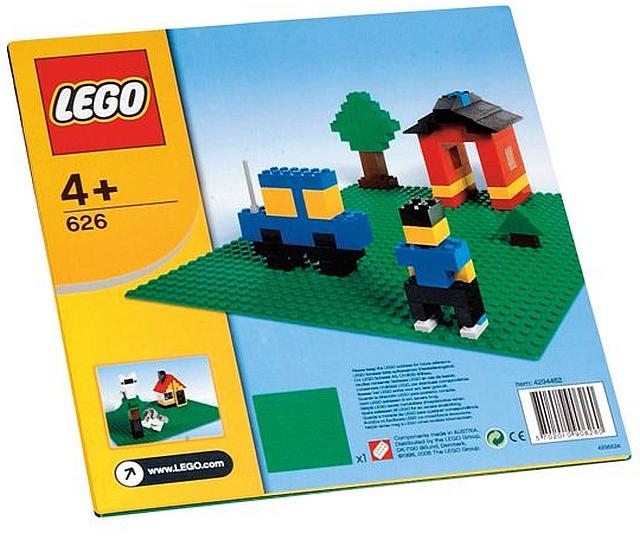 Lego bouwplaat groen