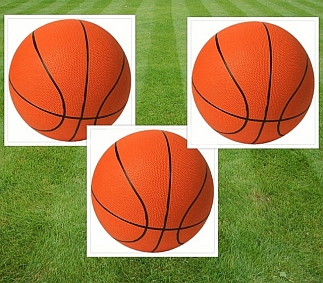 Set van 3 basketballen