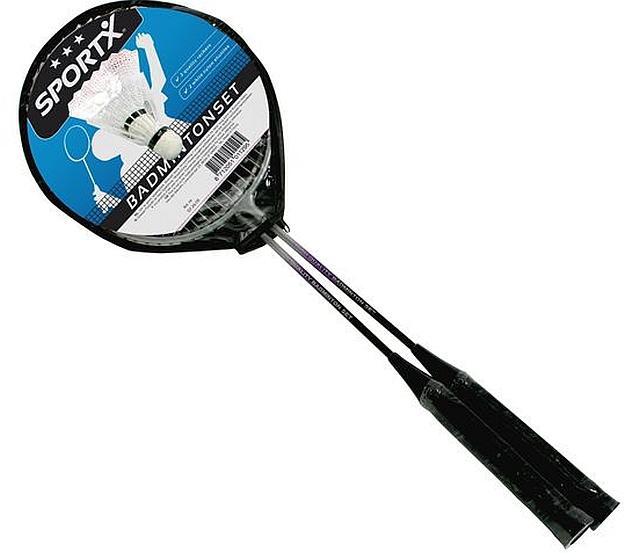 Set van 5 paar badmintonrackets